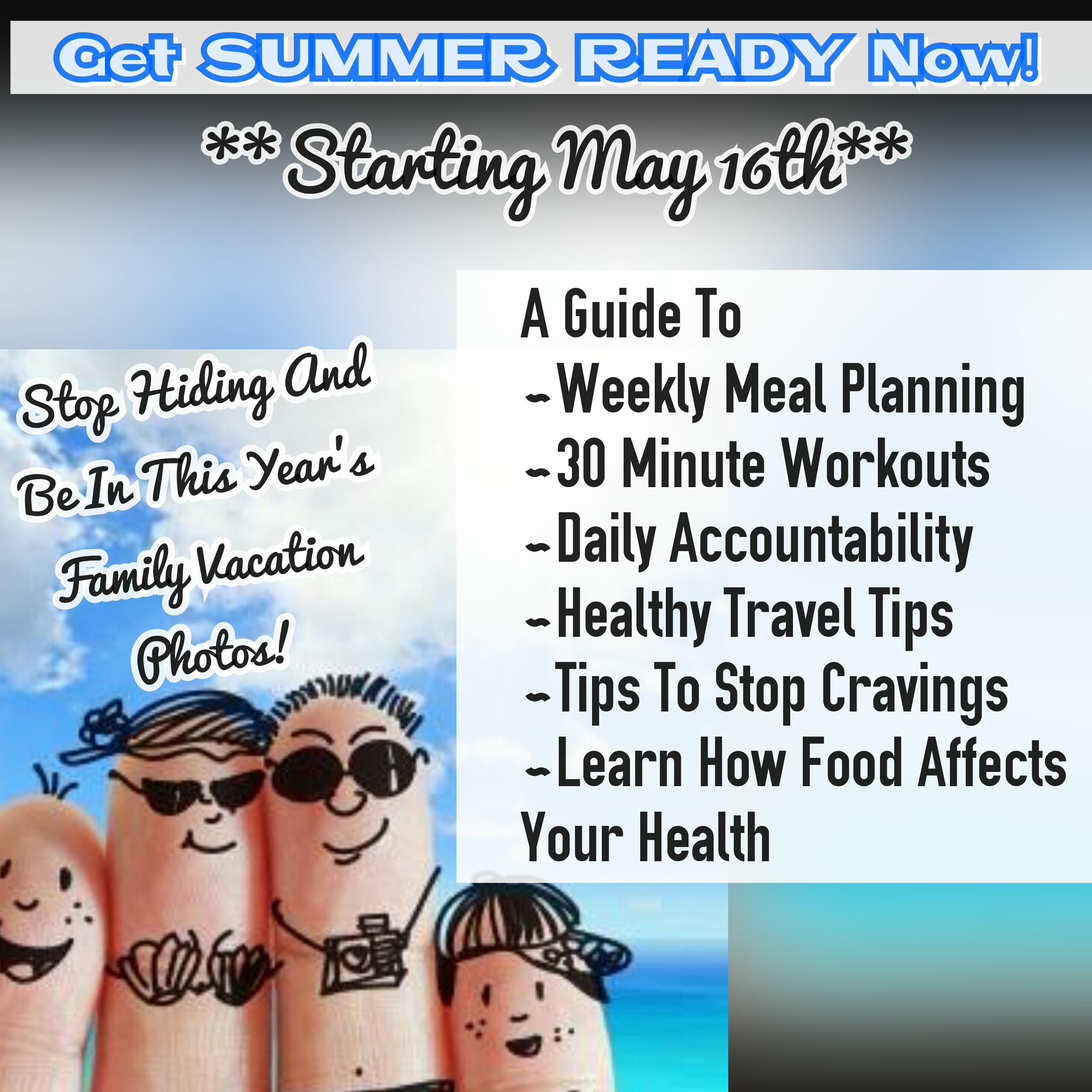 Get SUMMER READY